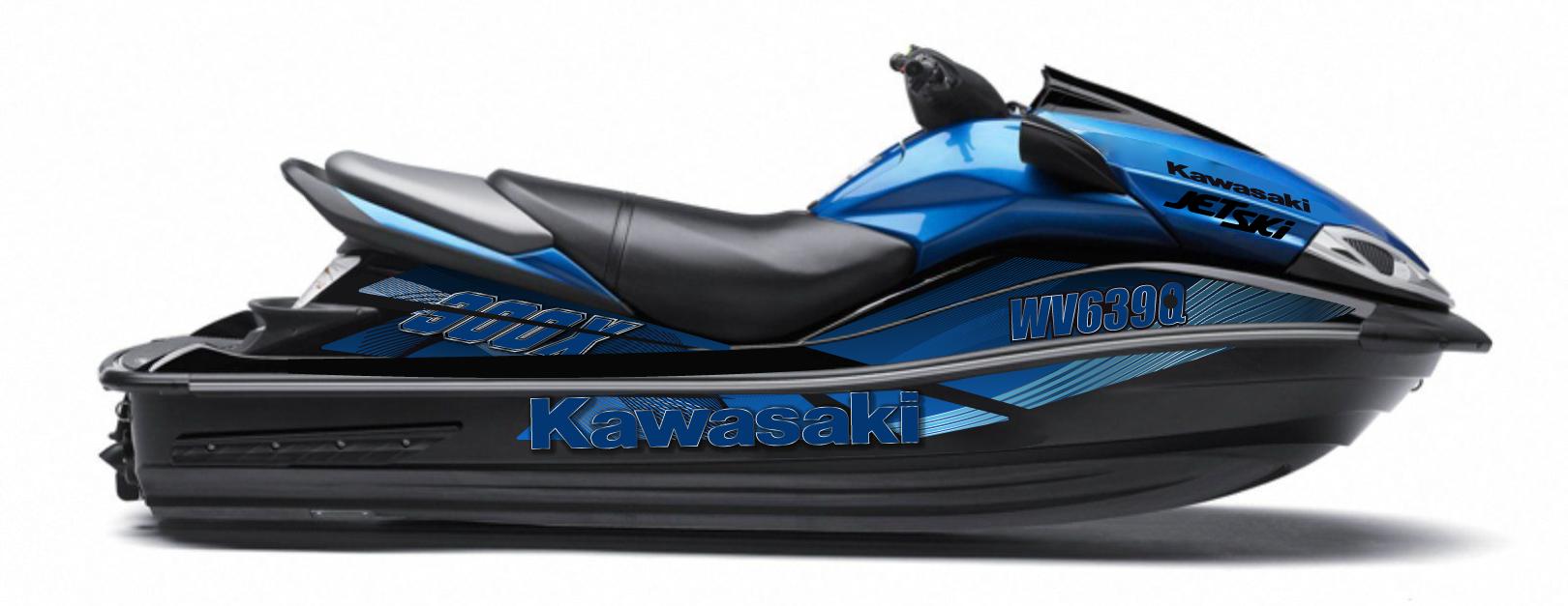 Jet Ski Decal Kits - KAWASAKI :: ULTRA RANGE :: Kawasaki ...